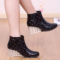Where to Buy Women Wedge Rain Boots Online? Where Can I Buy Women ...