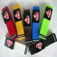 Wholesale moist sigh superman canvas belt