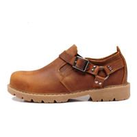 Cheap Wholesale-Free shipping 2015 new High quality Adult shoes oxford 100%leather shoes mens sneakers loafers flat slip-on men shoes leather