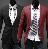 supreme clothing - New Korean Slim small Suit Jacket Mens Men hoodies clothing style skirt ymcmb sweatshirt