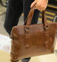 Wholesale new Business casual fashion men s briefcase men s travel bags messenger bag leather briefcase bolsas femininas