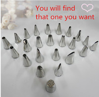 ateco tips - per set tool cupcake decoration stainless steel icing piping nib Ateco pastry tip nozzles Cake Decorating tools bakery