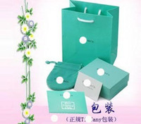 Wholesale pouch paper bag note cards silver polish cloth jewelry box piece set packaging box