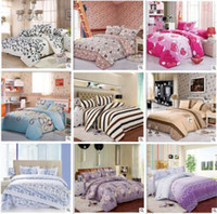 bedsheets sets - HomeLuxury bedding set bedclothes bed linen sets full queen king size Quilt duvet cover set bedsheets cotton Freeshipping