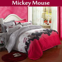 bedspreads and comforters - mickey and minnie bedding set king size comforter set queen quilt cover bed set cotton bed sheet bedspread duvet cover set