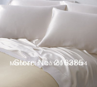 silk sheets - pure mulberry silk bedding set king size multi colors available mm silk sheets set