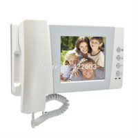 bell vision system - quot Color Wired Video door phone bell intercom Access control System kit Night vision Camera