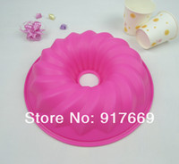 Wholesale Silicone Baking Cake Pan Silicone Cake Mold Forms For CakeS Bundt Bakeware Cake Tools Kitchen accessories FDKP