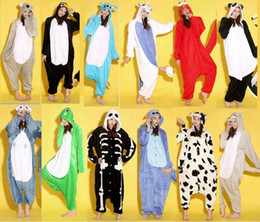 Wholesale New Pajama Cutely Animal Costumes Winter Dress Onesie Pajama Sets Stitch Sleepwear Costumes
