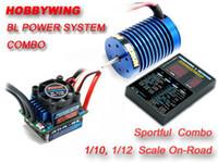 al por mayor combos sin escobillas-Programa mayor-EZRUN 9T 4300KV motor sin escobillas 35A ESC LED tarjeta combinada
