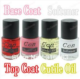Wholesale x ml Acrylic Nail base coat Topcoat Nail Remover Softener Nourish Oil Nail cuticle Oil