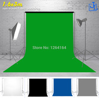 Wholesale x3m Green Non woven Photo Photography Backdrops Background Screen PS puzzle studio wood clothing prancha chromakey kid basket