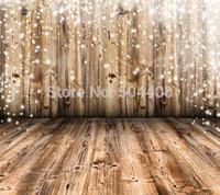 Wholesale X10ft vinyl backdrop photography background wooden floor backdrop XT
