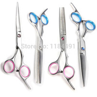 Wholesale Pro Hair Cutting Barber Salon Scissors Shears Clipper Hairdressing Thinning PC pO5VZ