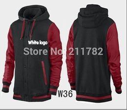 Wholesale Brand new fashion mens long sleeve mens long sleeve hoodies sweatshirt polo style jordans jacket coat outwear size S M L XL XXL