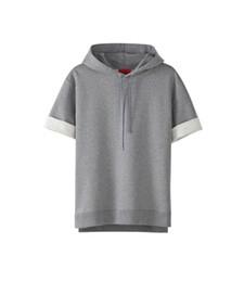 Wholesale unique A p c x kanye pullover half sleeve sweatshirt apc kanyewest hoodie