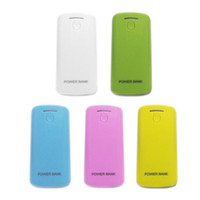 Cheap Wholesale-DIY Cell Box 2*18650 Portable External Battery Mobile Phone Charger Power Bank Box 5600 mah Backup Power Shell for iPhone 4 5s