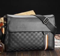 Wholesale Kangaroo Mens Crossbody Shoulder Messenger bags Briefcase Special leather handbags brand computer briefcase X505