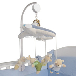 Wholesale New Fashion Baby Crib Mobile Bed Bell Holder Arm Bracket Wind up Auto Music Box Without Toys