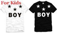 Wholesale For kids size cm boy london with star t shirt short sleeve t shirt bigbang tee shirt hip hop tshirt