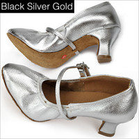 Wholesale New Women Square Dancing Shoes Fashion Latin Dance Shoes Modern Ballroom Shoes For Woman Size Hot Sale