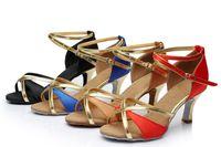 Wholesale BBS A014 Dancing shoes for women zapatos de baile latino latin dance shoes girls ballroom salsa dance shoes tenis feminino