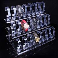 Wholesale Watch Bangle Bracelet Clear Jewelry Displays Three layers of watch rack Display bracelet holder cm x cm x cm