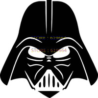 abs suv - Darth Vader Car Window Sticker Vinyl Decal Truck Bumper Funny JDM Auto SUV Door Computer Laptop Motorcycle Helmet Hot Graphical