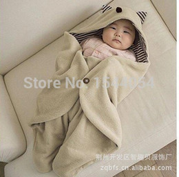 Wholesale High quality coral fleece baby blanket Children blanket newborn Swaddling super soft and comfortable baby Bedding