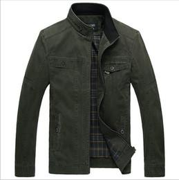 Wholesale Venta al por mayor nueva moda de primavera más el tamaño de la chaqueta de los hombres ocasionales XL estilo al aire libre militar caballero negocio cortaviento JK11