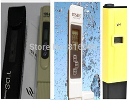 Wholesale Free ship by fast siginal post set for pcsTDS EC PH Meter Tester Filter Water Quality Purity tester