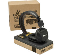 Cheap Wholesale-Genuine Marshall Major With Microphone & Remote On-Ear Pro Stereo DJ Headphone Black white color available New in box