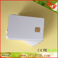 pvc card - Contact AT24C02 Chip Blank Smart IC PVC Card with K Memory