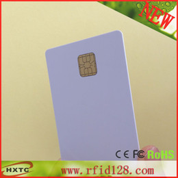 Wholesale FM4428 Chip Smart Blank Card with Bytes EEPROM Memory Printable By ZebraP330i Printer