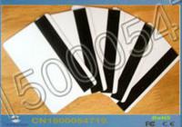 Banda Magnética envía al por mayor-libre 50PCS / Lot Hi-Co de inyección de tinta de impresora para imprimir la tarjeta en blanco por Epson / Canon con la bandeja de tarjeta