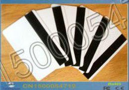Impresoras de inyección de tinta gratis en Línea-Banda Magnética envía al por mayor-libre 50PCS / Lot Hi-Co de inyección de tinta de impresora para imprimir la tarjeta en blanco por Epson / Canon con la bandeja de tarjeta