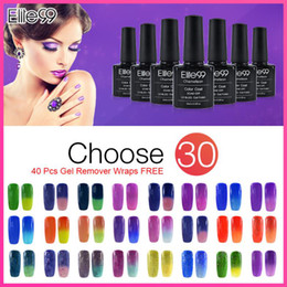Wholesale Elite99 ML Temperature Changing Color Nail Gel Lady Amazing Color Gel Nail Polish Any Of Colors