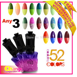 Wholesale Newest Top Fashion ML Nail Gel Polish Temperature Change Tips UV Gel Beautiful Colors Gel Lacquer