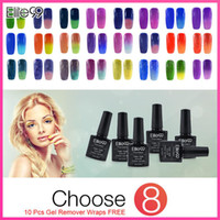 Wholesale Elite99 ml Chameleon Temperature Change Color Gel Nail Polish Wonderful Manicure Tool Nail Gel Polish Any Colors Free Ship