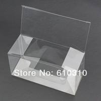 box packing box - Free shiping simple PVC Box packing boxes x66x61mm middle sizeJewelry packing holder