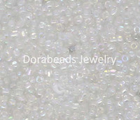 Cheap Wholesale-Free Shipping! 100 Gram Clear AB Color Glass Seed Beads 10 0 Jewelry Making (B09085)