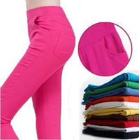 best colorful tights - Best selling Fashion women tights colorful stretch jeans stretch pants colors theatrical performances