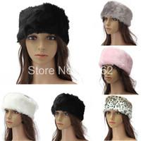 Wholesale New Fashion Woman Ladies Faux Fur Plush Winter Ski Hat Headband Ear Warmer Earwarmer Earmuffs Ear Muffs