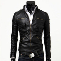 leather motorcycle apparel - motorcycle punk slim jacket spring apparel coats pilot the new arrival clothing fashion leather england classic sheep skin