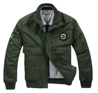 air force ones - hot sale men Air force one s thickening add cotton jacket warm coat
