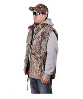 ap s - Fall Jungle Men Browning Thicken Cotton AP Camouflage Vest Warm Bionic Camouflage Fleece Vests