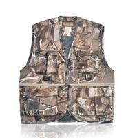 remington clothes - New REMINGTON hot bionic camouflage vest Outdoor hunting wild clothes Fishing camouflage vest waistcoat