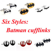 Wholesale Styles Batman Cufflink Bat Man Cuff Link