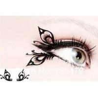 Wholesale Butterfly art paper cutting false eyelashes chinese style paper cutting false eyelashes