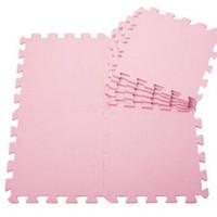 baby floor mat - Baby EVA foam puzzle play mats of kids pink Interlocking Floor mat for children cm